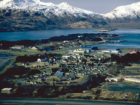 US Coast Guard Base Kodiak, AK....our first place is somewhere in the middle.....