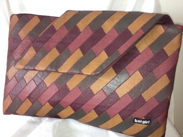 Koi Girl handbags and clutch purses  www.koigirl.com.au  I love the colors of this bag!