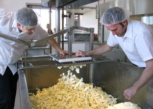 Enjoy a cheese factory tour at Clock Shadow Creamery, Milwaukee, WI's first and only creamery!