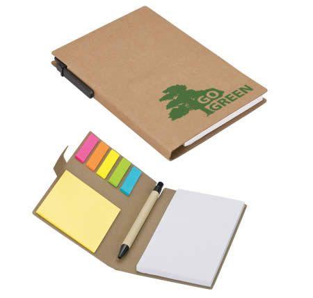 #notebook #giftgiveaways #corporategiftgiveaways #ecofriendly #recycle #stickynote #brandedgoods #brandinnovation  wwww.brandinnovation.co.za