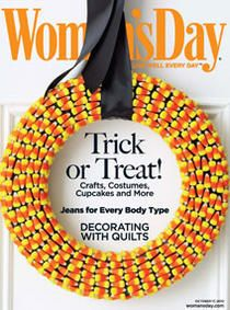 Cristal this is for you! If you don't eat all the candy corn you can make a wreath out of them