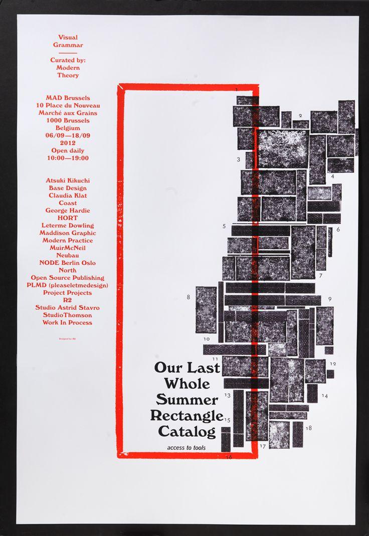 Poster design exhibition - Image Of Umr Umung Exhibition Poster Modern Theory Visual Grammar R2 Studio Jpg
