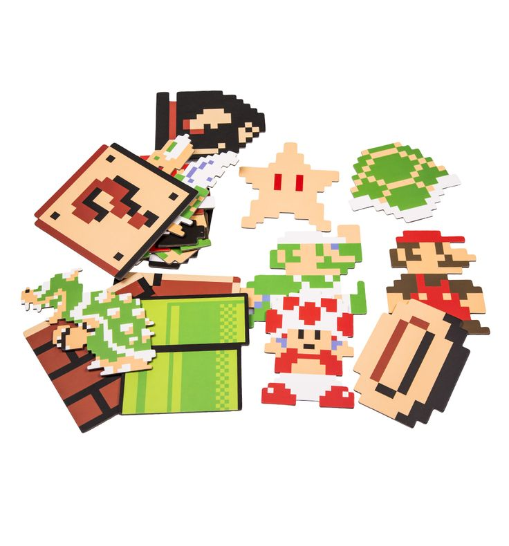 NINTENDO Super Mario Brothers Set Of 20 Coasters First he saved princesses, now hes saving surfaces! First seen in classic arcade game Donkey Kong, Mario became a superstar with the smash hit video game Super Mario Bros and is loved by generations o http://www.MightGet.com/may-2017-1/nintendo-super-mario-brothers-set-of-20-coasters.asp