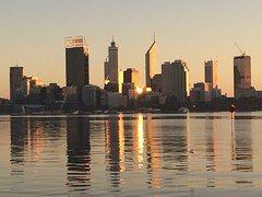 City, Perth, Australia, Skyline