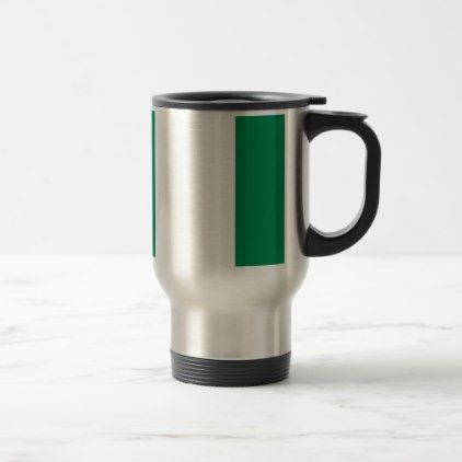 #Low Cost! Nigeria Flag Travel Mug - #travel #accessories