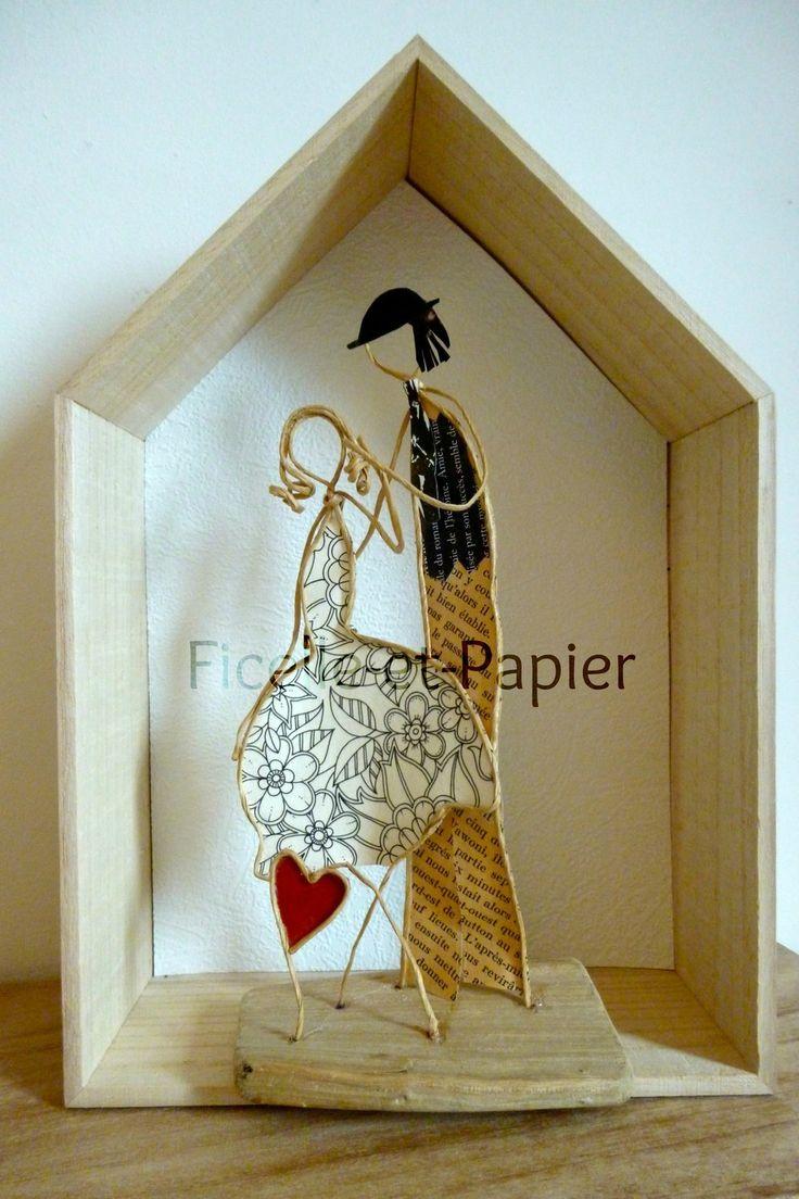 les 1677 meilleures images propos de poesie de papier sur pinterest sculpture papier m ch. Black Bedroom Furniture Sets. Home Design Ideas