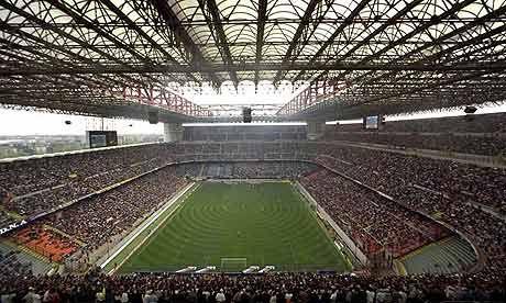 San Siro (Home of AC Milan & Internazionale). Milan, Italy
