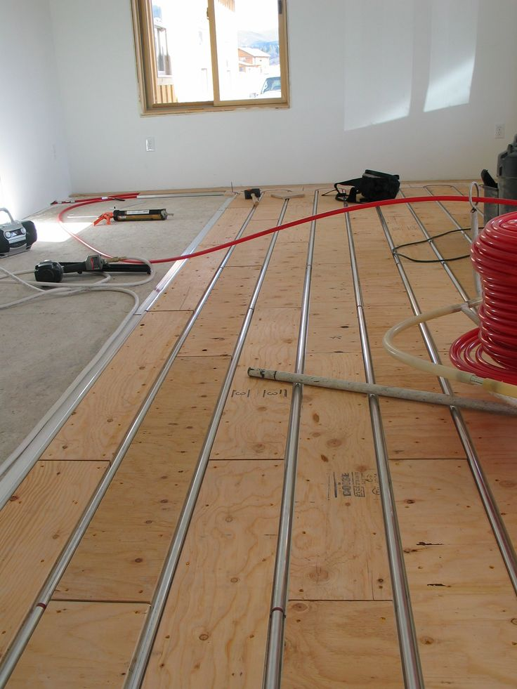 148 best images about radiant heating on pinterest for Radiant floors