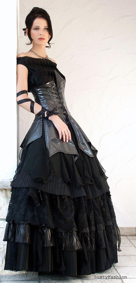 Black Wedding Dresses 2012