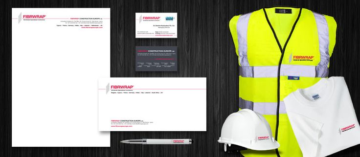 ThinkBAG created a full Corporate ID of Fibrwrap Construction Europe and its subsidiaries and franchisor companies worldwide: Strategic Marketing | Full Corporate ID | Design & Printing the Stationary, signs and personel apparel.
