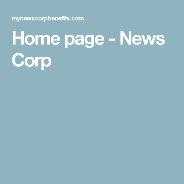 Home page - News Corp