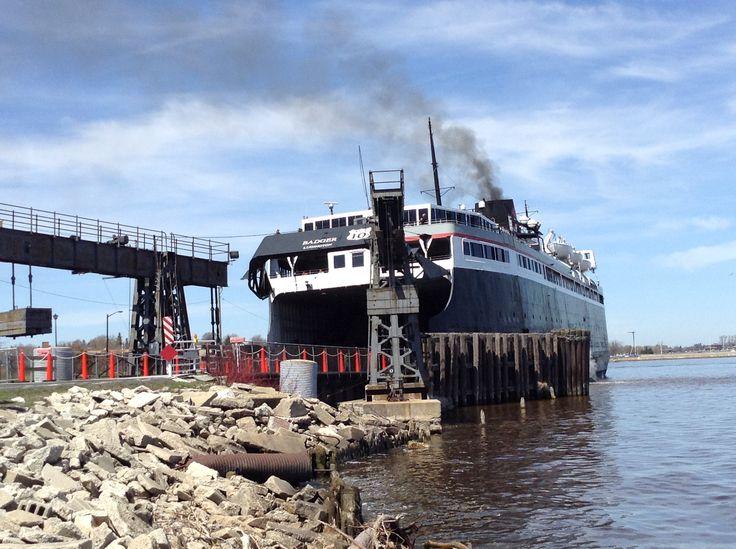 Manitowoc Ferry to Ludington, Michigan. Great lakes