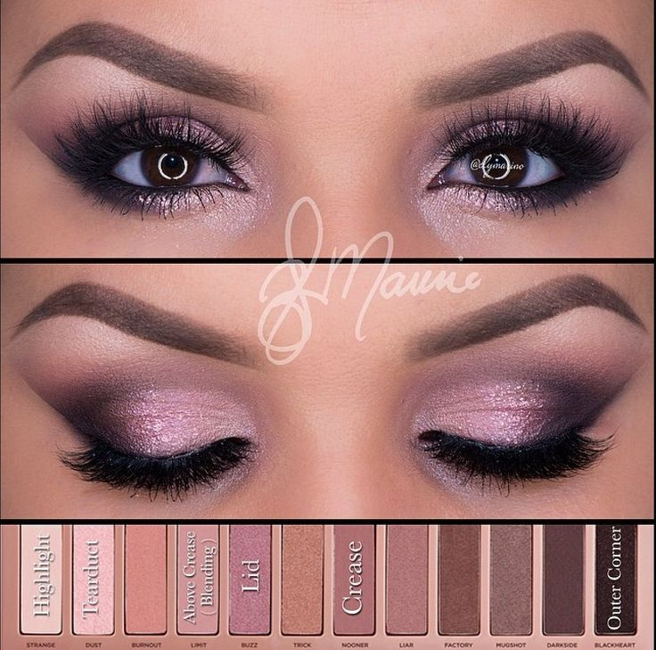 Naked 3 Palette by Urban Decay Makeup Look