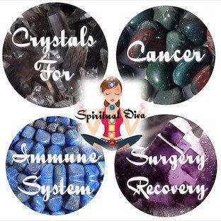 Healing Crystals for Cancer, Surgery Recovery & Immune System Support