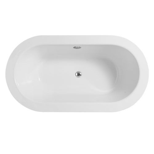 Trend freestanding 1500mm bath with surround panel