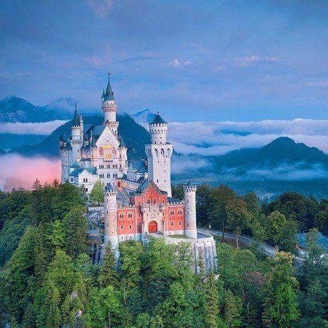 Замок #Нойшванштайн, #Німеччина.