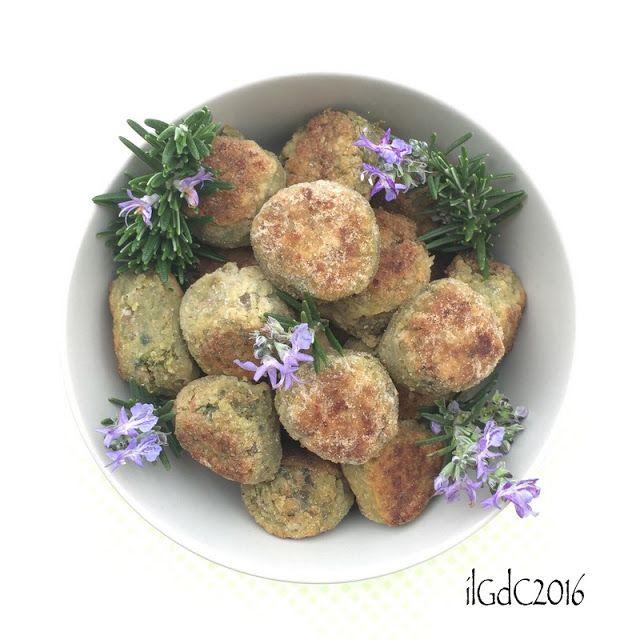 il giardino dei ciliegi: Polpettine golose di lenticchie, nocciole e rosmar...