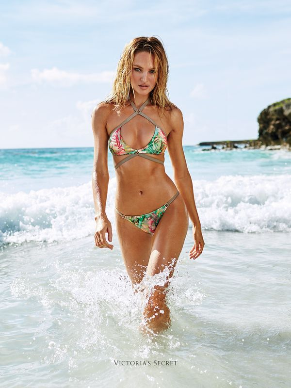 13244888eb Celebrate the Victoria s Secret Swim 2015 collection with a beachy new  wallpaper for your phone