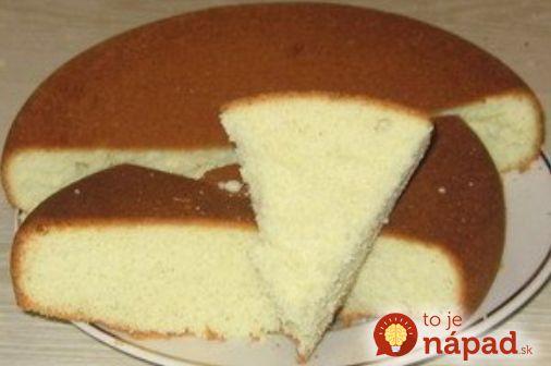 Zabudnite na zložité prípravy korpusu na vaše obľúbené sladké pochúťky. Predstavujeme vám skvelý recept, ktorý pripravíte jednoducho arýchlo len zo 4 základných surovín. Cesto je vláčne, nadýchané amôžete ho použiť na koláče, torty, zákusky alebo iné sladké pochúťky. Stačí len natrieť džemom, šľah