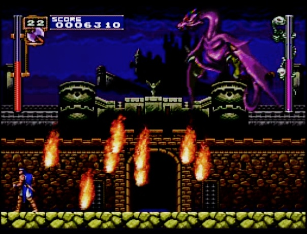 Castlevania Rondo of Blood First boss  for the PC Engine SUPER CD-ROM #PCEngine #PCE #NEC #PC #Engine #SUPER #CD-ROM #Castlevania #Rondo #of #Blood #RoB #Boss #Retro #Gaming