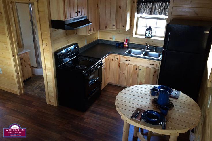 7 beautiful cabin kitchens bonus basement bar wood tex for Home bar kits and plans