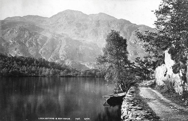 George Washington Wilson - Loch Katrine and Ben Venue, ca 1890