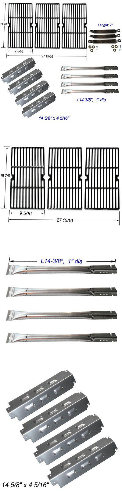 BBQ Tools and Accessories 20725: Charbroil 463420507,463420509 Burner,Carryover Tubes,Heat Plates,Grill Grates -> BUY IT NOW ONLY: $62.99 on eBay!
