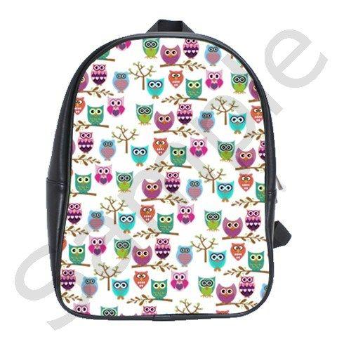 Happy Owls School Bag (XL)