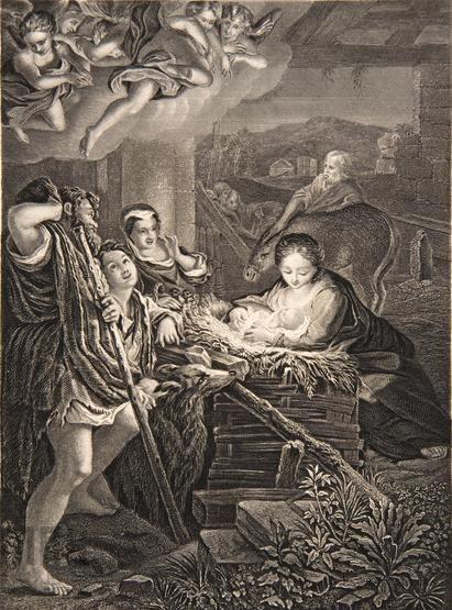 Correggio (1489 -1534), William French, Boże Narodzenie, własność Muzeum Narodowego w Krakowie