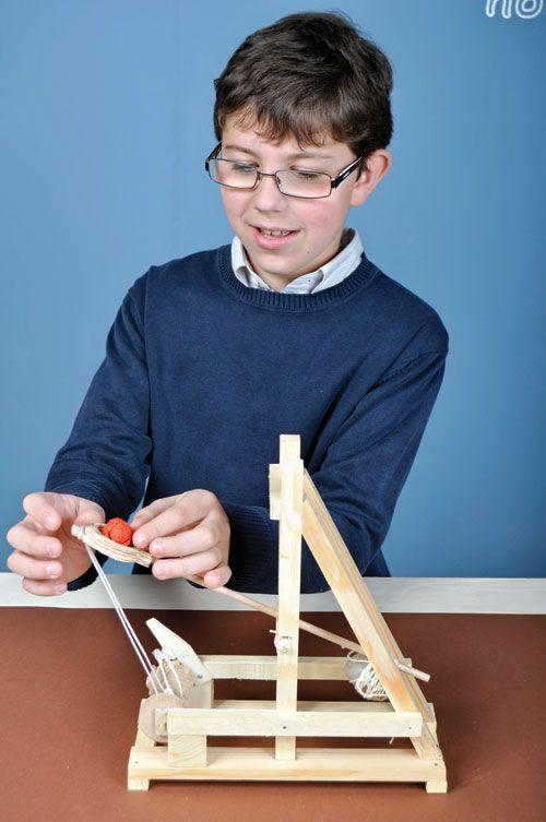 Costruiamo la catapulta romana