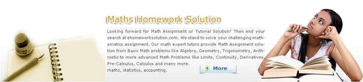 We have highly qualified tutors with advanced degrees in math. They are able to break down complex mathematic applications into its sub parts and explain to you in detail how each step is performed.
