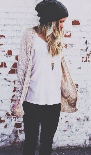 How to Wear a Beanie: Stylish Ways to Rock the Slouchy Hat - must haves, looks, tips & street style close-up!