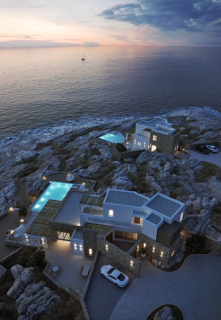 Villas in Mykonos, 2012