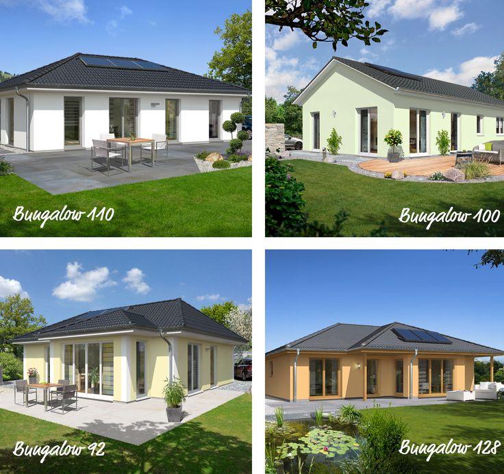 Wohnen ohne Stufen, welcher #Bungalow ist Euer Favorit? Mehr Info´s: http://www.hausausstellung.de/bungalow-bauen.html