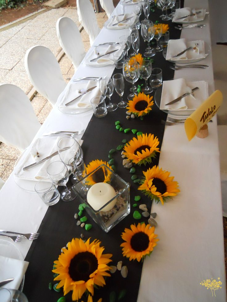 Segnaposto Matrimonio Con Girasoli : Più di fantastiche idee su fiori matrimonio