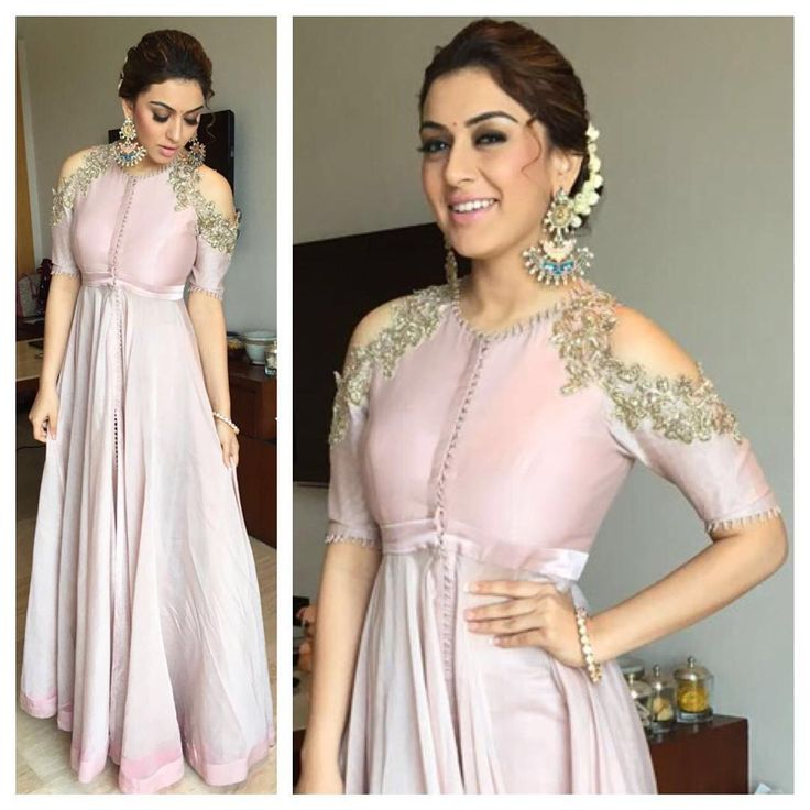 In a fresh off the runway @anushreereddyofficial & @amrapalijewels .. @ihansika looks radiant for Manithan promotions