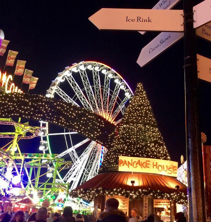 Visit the Winter Wonderland in Hyde Park, London