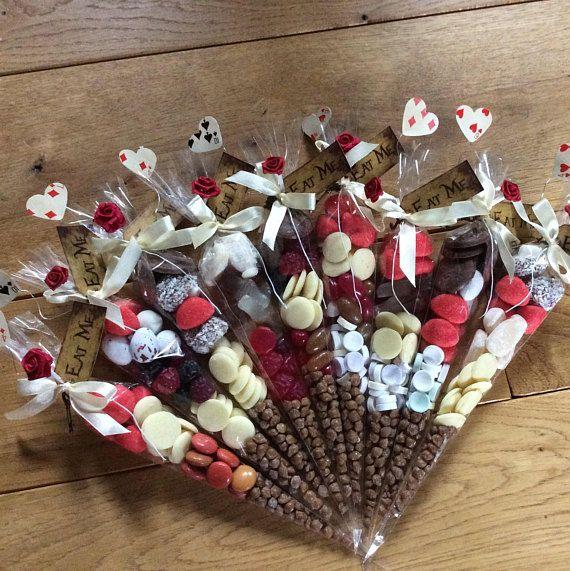 Alice in Wonderland 'Eat Me' Personalised Sweet Cone