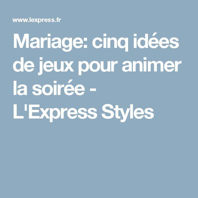 Mariage: cinq idées de jeux pour animer la soirée - L'Express Styles