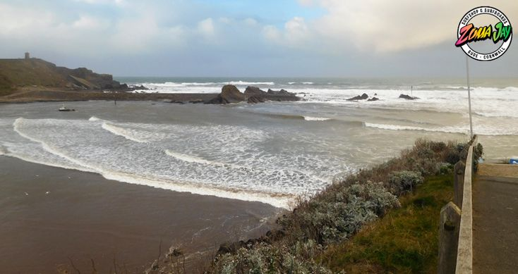Still big and messy far out back today, however the winds have turned south westerly and it's bringing in a clean 2-3ft in the bay  Get in as early as possible as the tide is on it's way in!  High Tide (am): 10:59 (6.5m) Low Tide (am): 04:37 High Tide (pm): 23:30 (6.2m) Low Tide (pm): 17:14  Summerleaze for this morning!!  Check out our full surf report and 7 day report here: https://www.zumajay.co.uk/surf-report