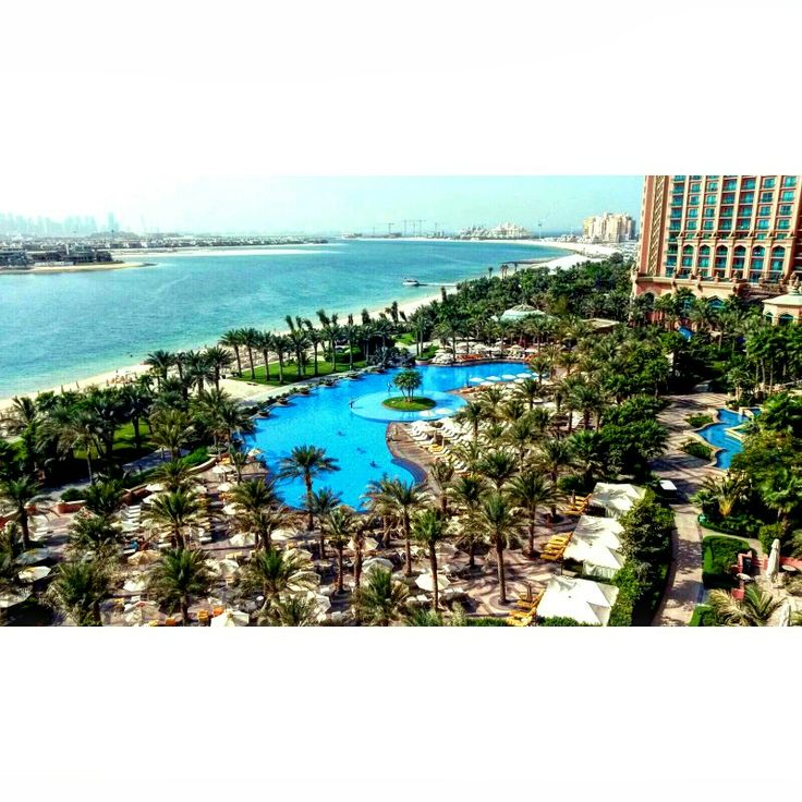 This was my view in the morning   Atlantis, The Palm