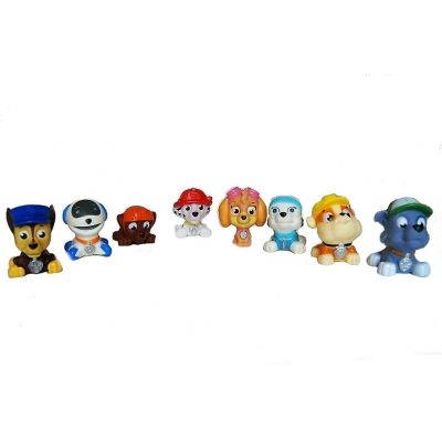 Zestaw figurek Psi Patrol - Skye,Rocky,Zumba,Marshall,Everest,Rubble,Chase,Robot