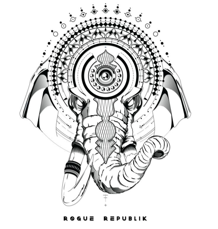 Ganesha Warrior Sticker The remover of obstacles, and facilitator of prosperity, our enlightened series Ganesha Warrior sticker intertwines the Deity's powers of solution, with the sacred geometry's u
