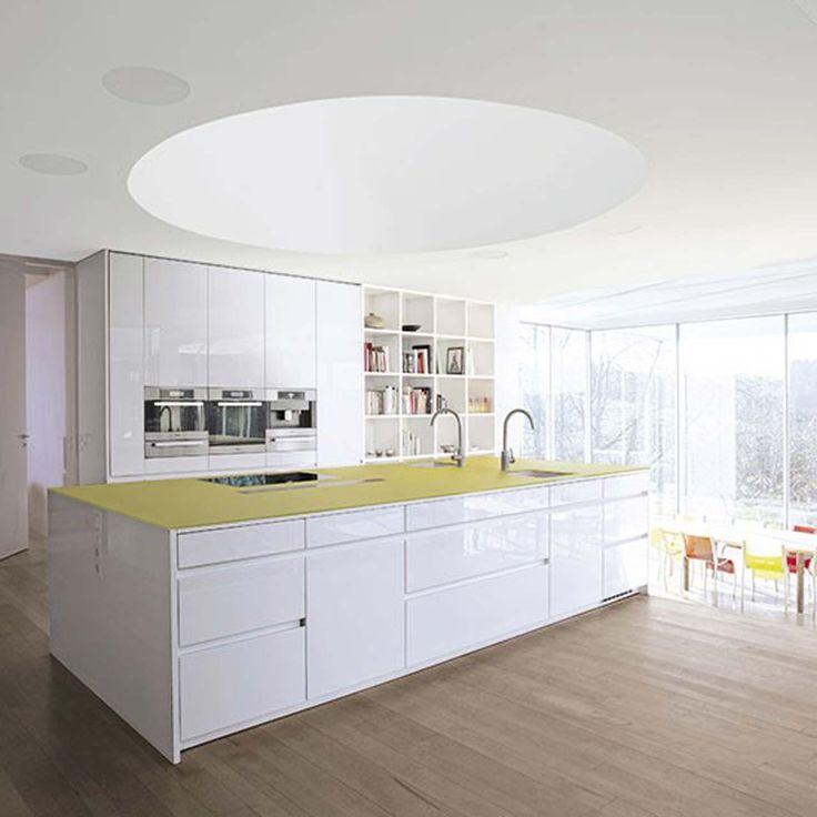 Leight White kitchen design ideas ~ http://www.lookmyhomes.com/white-kitchen-design-ideas-10-best-photos/