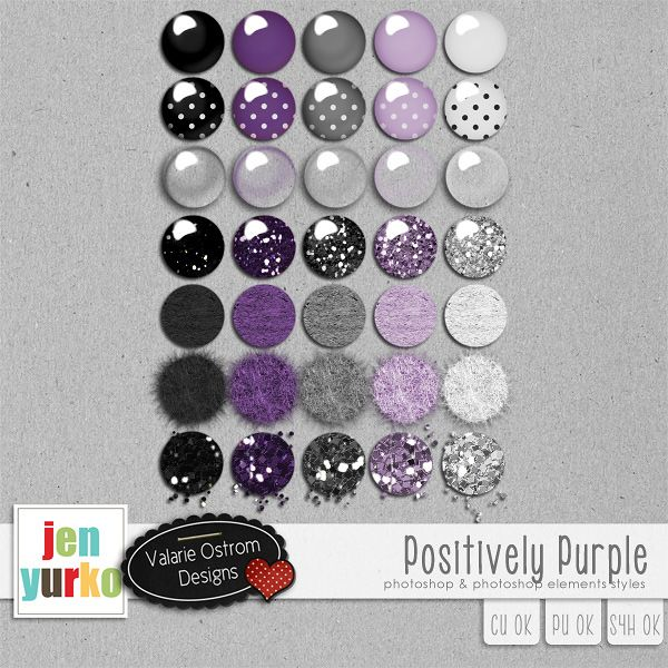 Positively Purple {PS/E Styles}
