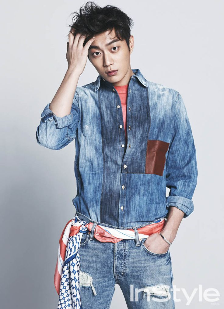 Doo Joon - InStyle Magazine April Issue '14