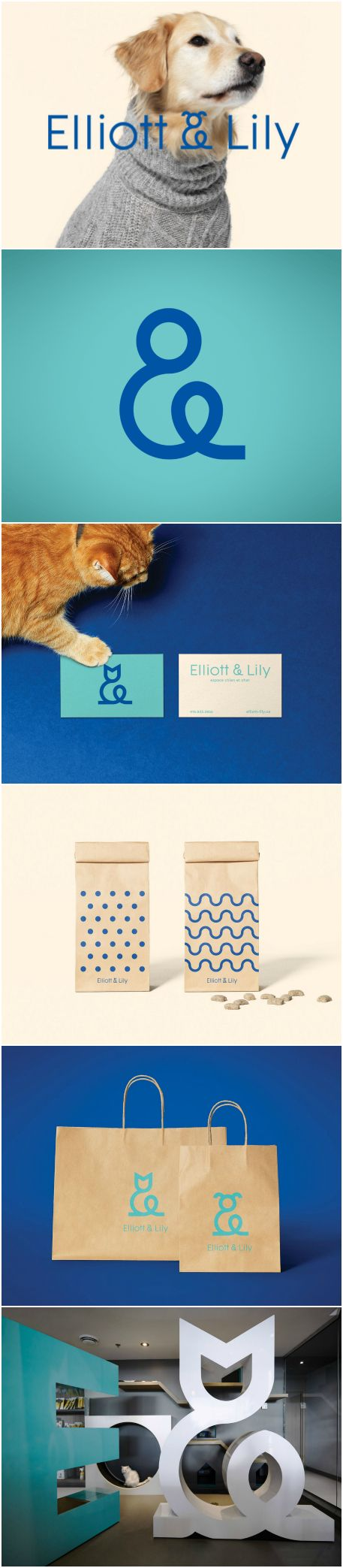 Design Agency: Agency lg2 Project name: Elliott & Lily Location: Canada Category: #Pets