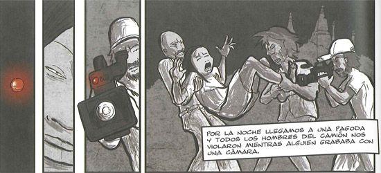 'Esclavas', un cómic que denuncia la explotación sexual en España