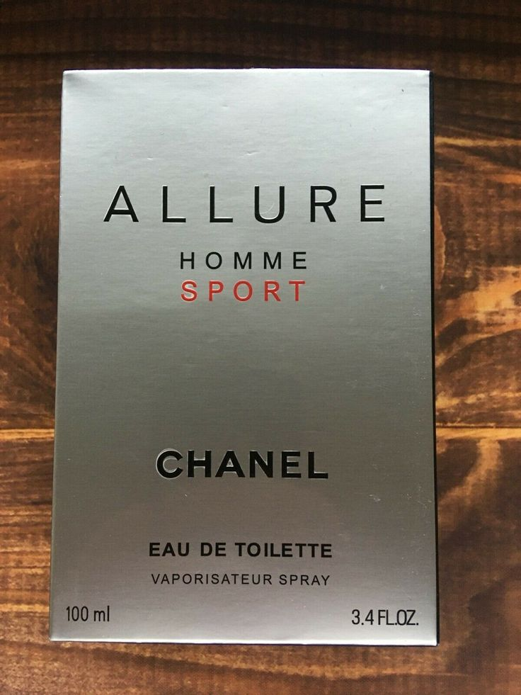 Chanel Allure Homme Sport EDT 100ml New With Box Fragrance