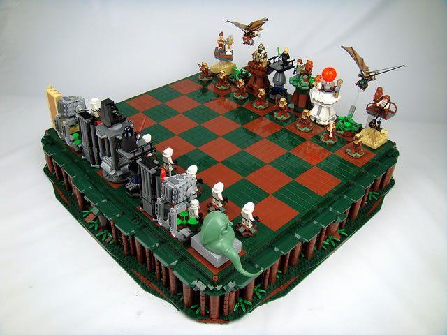 Des échiquiers Lego StarWars  (4)